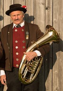 Ehrenmitglied Karl der Hechendorfer Blasmusik