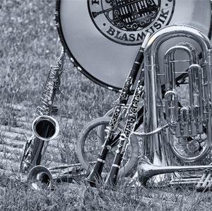 Instrumente der Hechendorfer Blasmusik